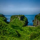 Ballycastle Cliffs by Adam Northam