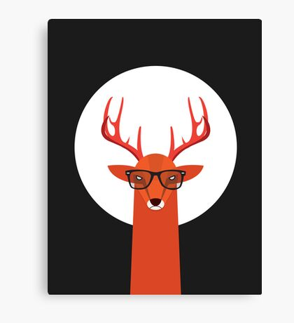 OHH DEER Canvas Print