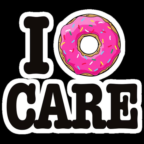 I donut care transparent