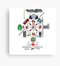 The Maccabees - Elephant and Castle Canvas Print