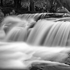 A Talybont waterfall by Stephen Liptrot