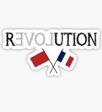 Les Miserables/French Revolution inspired design Sticker