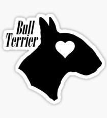 Bull Terrier <3 Sticker