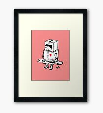 For today I am a robot Framed Print