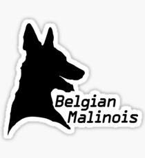 Belgian Malinois pride! Sticker