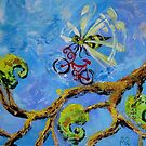 Bee With Bike by Ellen Marcus