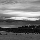 San Francisco Peaks From Williams by Mike Herdering