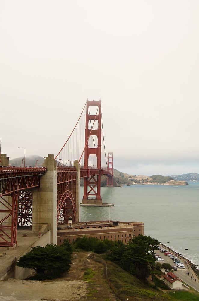 Golden Gate Bridge by photojeanic