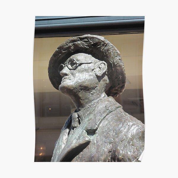 James Joyce. Dublin, Ireland Poster