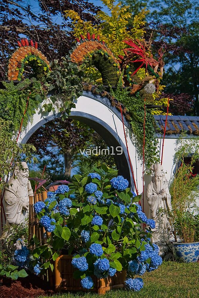 USA. Rhode Island. Newport. The Flower Show 2013. Dragon. by vadim19