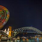 The Wheel and the Bridge 10.8.13 by Paul Campbell  Photography