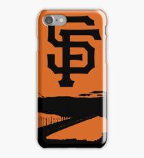 San Francisco Giants and the Golden Gate bridge iPhone Case/Skin