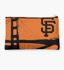 San Francisco Giants and the Golden Gate bridge Studio Pouch