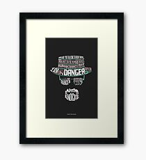 One Who Knocks Framed Print