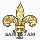 Saints Fan! by Lauren O