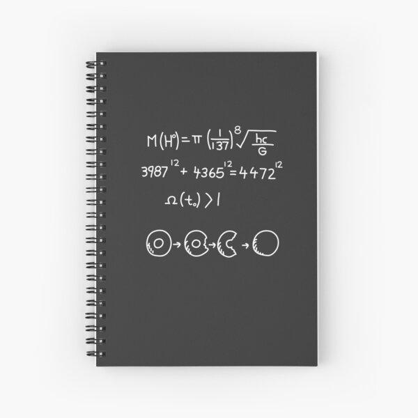 Higgs Boson Spiral Notebook