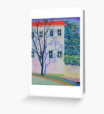 I caught a tree daydreaming in Balmain Greeting Card