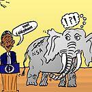 Obama et l'éléphant de la NSA by Binary-Options