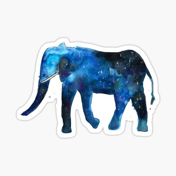 Elephant Universe Sticker