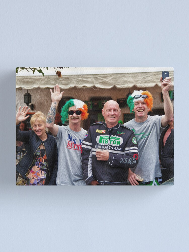 Alternate view of Happy Paddy's Day! Canvas Print