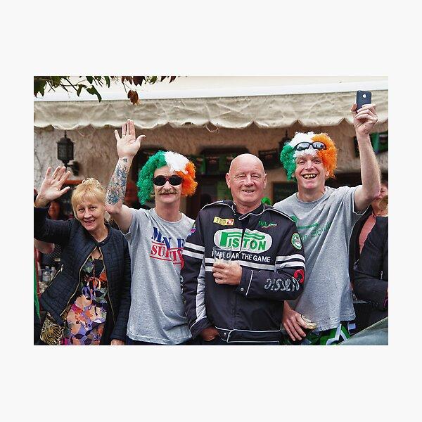 Happy Paddy's Day! Photographic Print