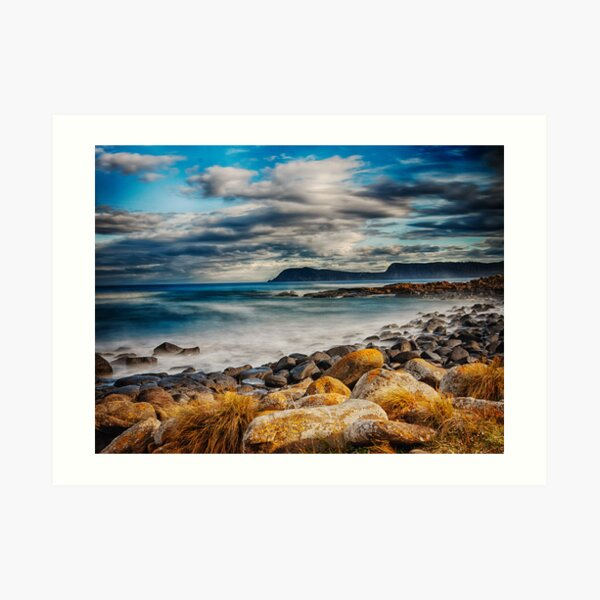 Cloudy Bay Art Print