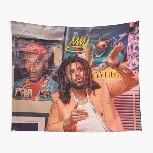 J Cole – King Cole | Cole World Tapestry