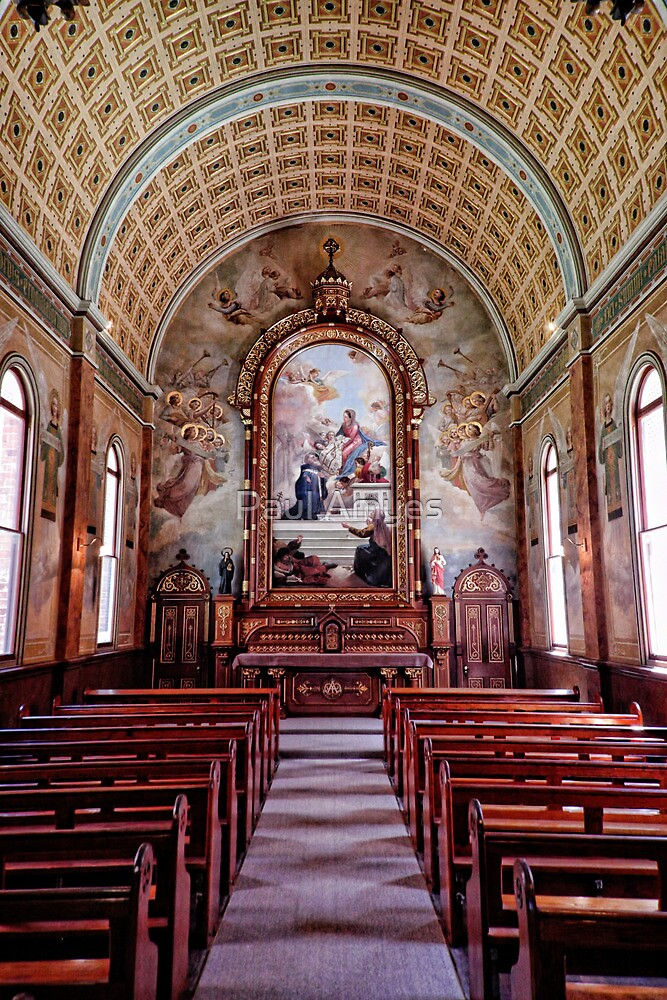 St.Ildephonsus College Chapel by Paul Amyes