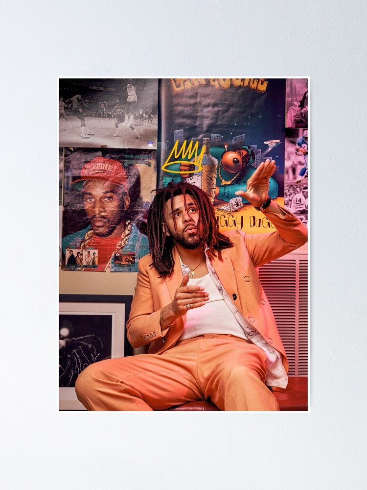 Alternate view of J Cole – King Cole | Cole World Poster