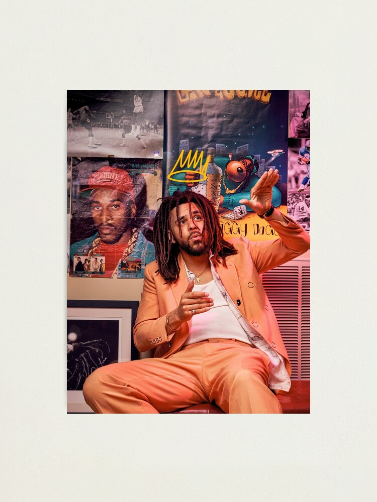 Alternate view of J Cole – King Cole | Cole World Photographic Print