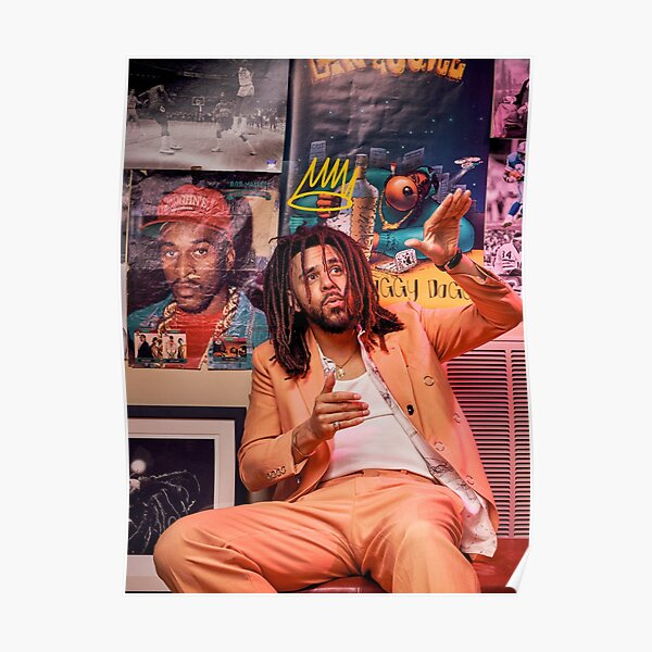 J Cole - King Cole | Cole World Póster