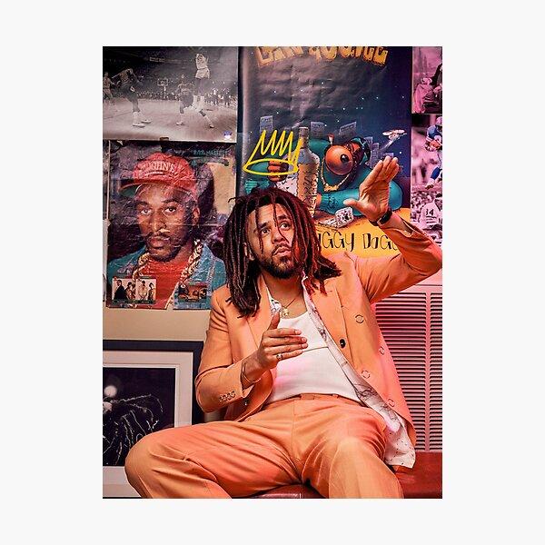 J Cole – King Cole | Cole World Photographic Print