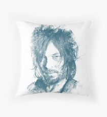DARYL DIXON Throw Pillow