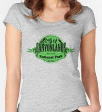 Canyonlands National Park, Utah Women's Fitted Scoop T-Shirt