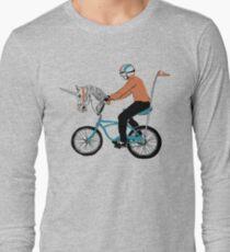 Unicycle Long Sleeve T-Shirt