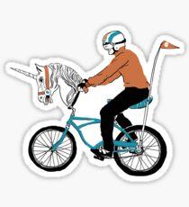 Unicycle Sticker