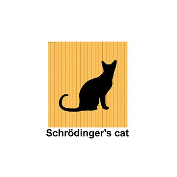 Schrödinger's cat iphone case by therationalcat