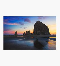 Cannon Beach Seastacks Photographic Print