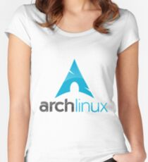 ArchLinux Women's Fitted Scoop T-Shirt