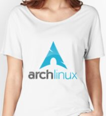 ArchLinux Women's Relaxed Fit T-Shirt
