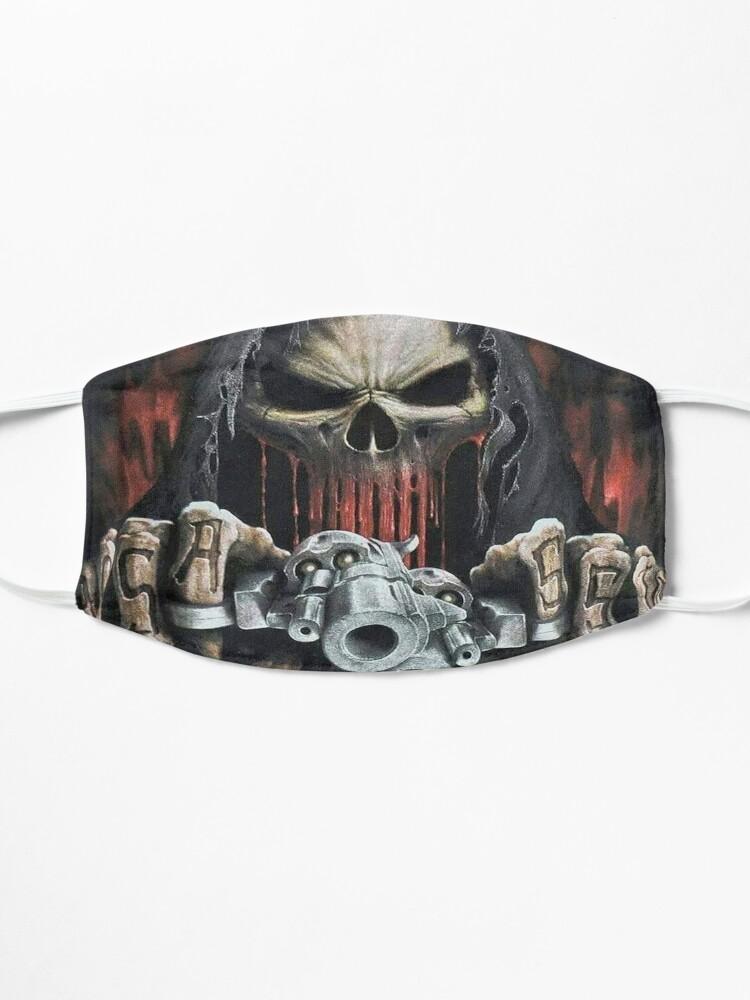 Alternate view of Tank Rivera design #1 Mask