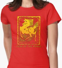 Year of The Horse T-Shirts Gifts Prints Women's Fitted T-Shirt