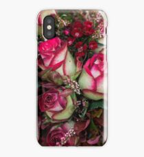 Two Tone Roses iPhone Case
