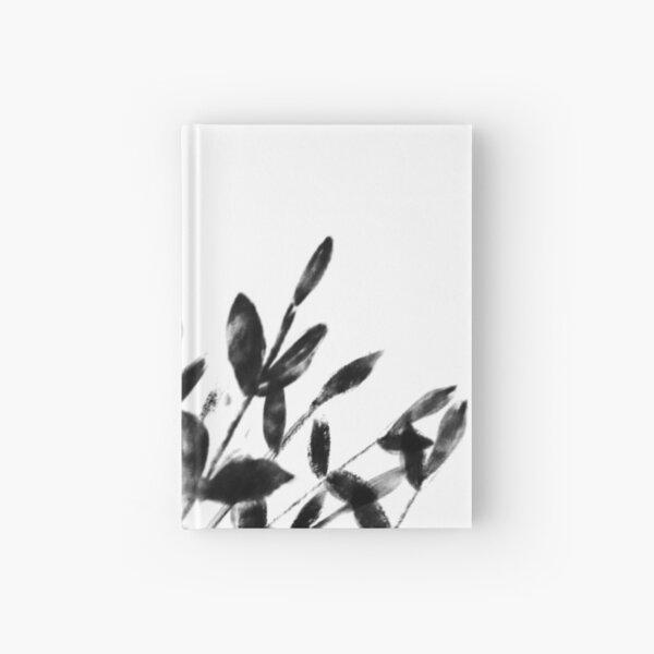 Foliage Series no1 white Hardcover Journal