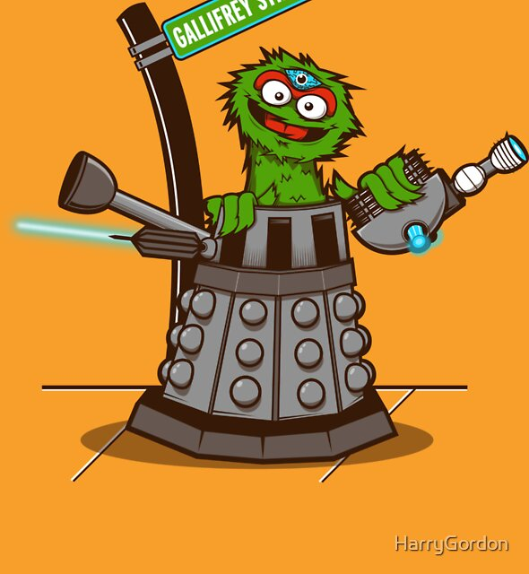 E is for EXTERMINAATE!! by HarryGordon