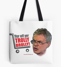 Brolly Off His Trolly Tote Bag