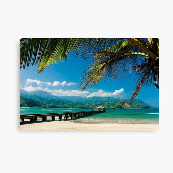 Hanalei Bay Pier,  Kauai Canvas Print