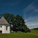 Bavaria: St. Leonhard Chapel in Harmating by Kasia-D