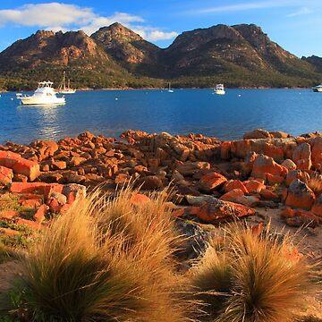 Coles Bay, Freycinet Peninsula, Tasmania by bodhiimages