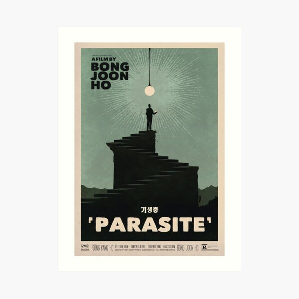 Parasite Film Poster Art Print